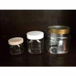PET Cosmetic Jars