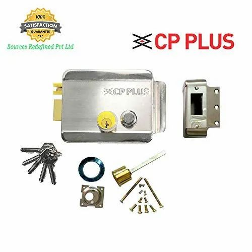 CP Plus Electronic Door Lock, Finish Type: Nickel Plated