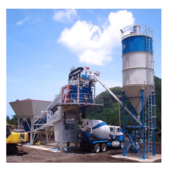Dynamac Pan Type Mobile Concrete Batching Plant