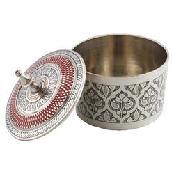 Silver Handicraft Bowl