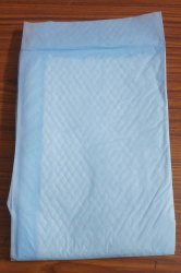 Blue Disposable Under Pad, Size: Large, 200
