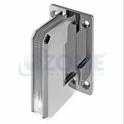 Wall to Glass Lock with Both Sides Key (Rectangular Designer Series)