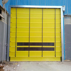 Automatic Fold Up Door