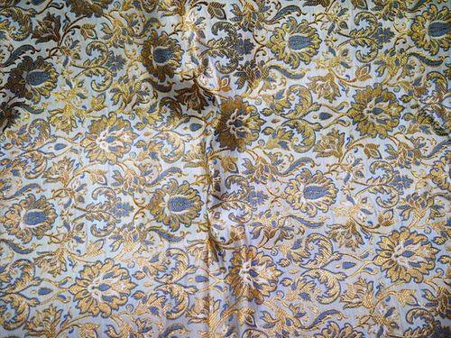 Wedding Dress Fabric.Banaras Brocade Wedding Dress Jacquard Fabric