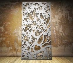 Maple Botanical Laser Cut Metal Screens and Sheet Boards