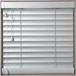 White Horizontal Aluminium Window Blind