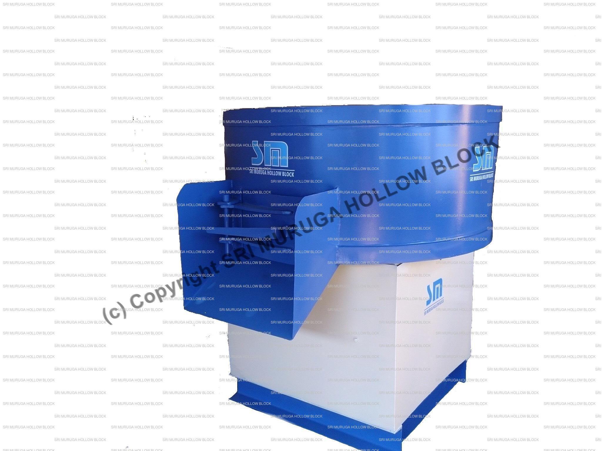 Rotating Pan Mixer Machine