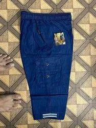 A.G. Regular Fit Men Denim Capri, Machine Wash,Hand Wash, Size: XL,XXL