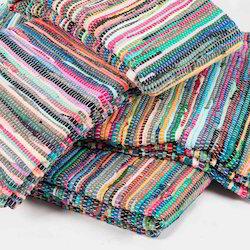 Reversible Chindi Durrie Handmade Recycled Rugs