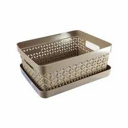 691 Small Plastic Classy Basket