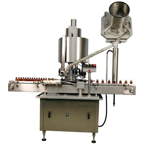 SPM Oil Bottle Capping Machine, Model Name/Number: SARCM-150
