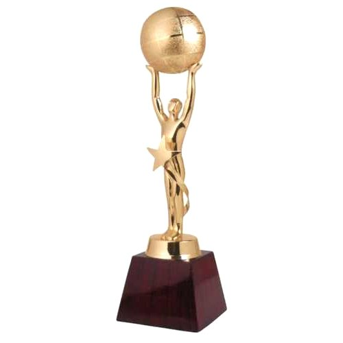 Progift Golden (gold Plated) Gold Plated Trophy
