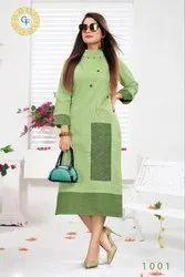 Ananya-Tc Cotton Exclusive Designer Kurtis