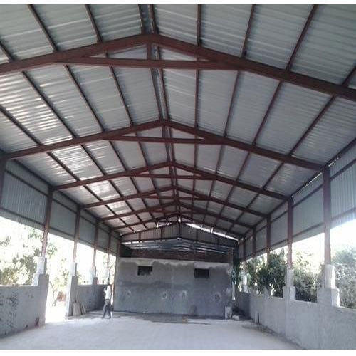 Steel Warehouse Roofing Shed Rs 200 Square Feet Open