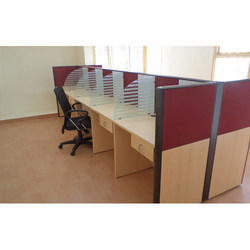 Attractive Wooden Office Workstation