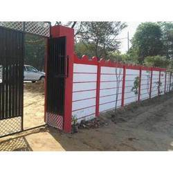 Residential Cement Compound Wall
