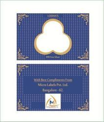 Gold Coin Packaging Card