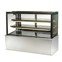 Blue Stone Stainless Steel & Glass Cold Display Counter