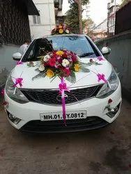 Fresh Flowers Car Decoration, mumbai