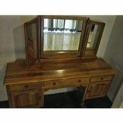 Brown Designer Wooden Dressing Table