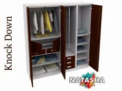 Natasha 4 Door Wardrobe