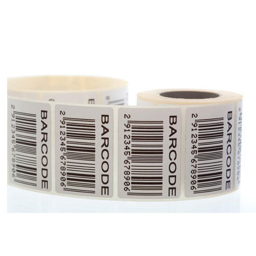 PVC Barcode Sticker