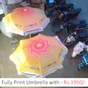 Printed Umbrella Tent