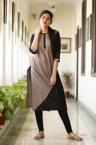 653cc21556 Printed Cotton Jaipuri Kurtis, Rs 360 /piece, Shivam Exports | ID ...
