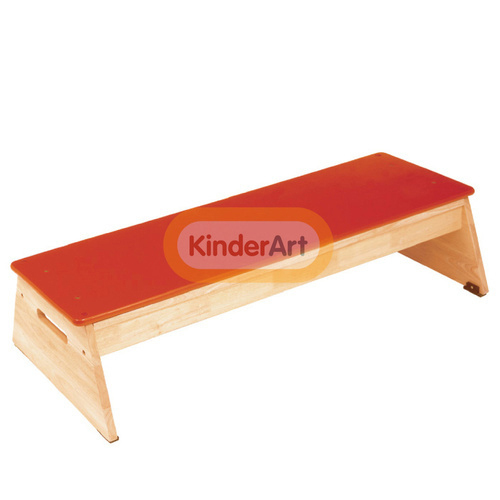 Brown Wooden Kids Gym Bench Age 4 To 8 Year Id 16717818812