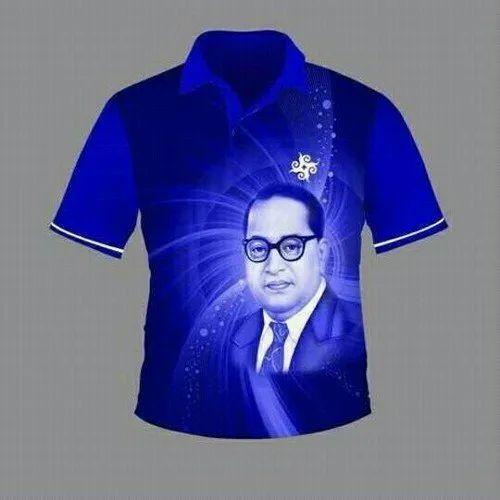 c93d77167 S-Xl Casual Wear Bhim Rao Ambedkar Printed T-Shirts, Rs 149 /piece ...