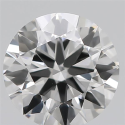 3.05ct Lab Grown Diamond CVD K VS1 Round Brilliant Cut IGI Crtified Type2A