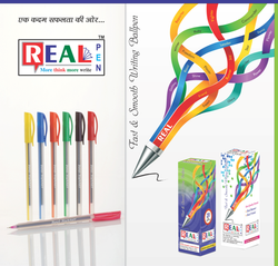 In 10 Colour Direct Fill Disposable Ball Pen, For Writing