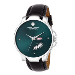 Day Date Watch Green