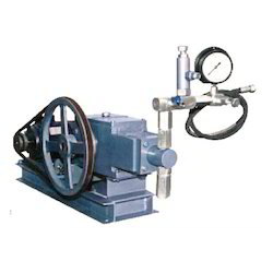 Motorized Pressure Test Pump