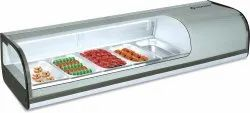 Trufrost Grey COUNTERTOP SUSHI DISPLAY, For Restaurant