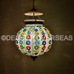 Deshilp Overseas Glass Modern Hanging Light