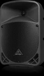 Black Plastic Behringer Eurolive B108D Active 300-Watt 2-Way 8