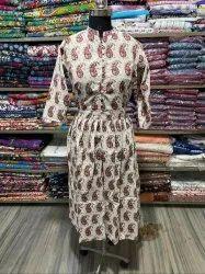 Cotton Printed women dress