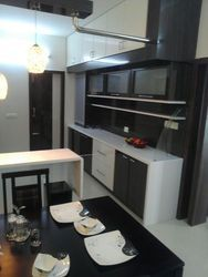 Modular Kitchen Wooden Work