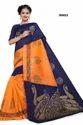 Multi Color Bhagalpuri Silk Saree