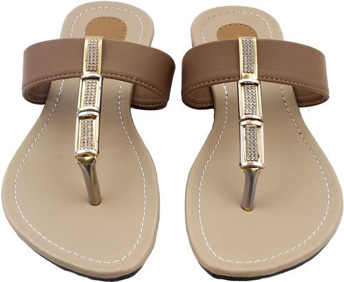 32f805d29 Foot Wagon Brown Synthetic Casual Slippers