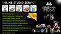 Online Studio Services Around India