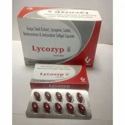 Grape Seed Extract Lycopene Lutein Beta Carotene And Antioxidant Softgel Capsules