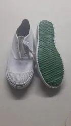 Black & White Men PT Shoes, Size: 6-12