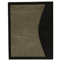Jute Folders With Leatherite