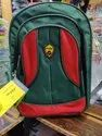 Green and Red School Bag