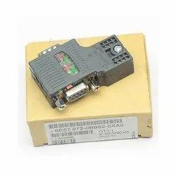 Black SIMATIC DP, RS 485 bus Connector 6ES7972-0BB52-0XA0 Siemens, For Industrial, 6es79720bb520xa0