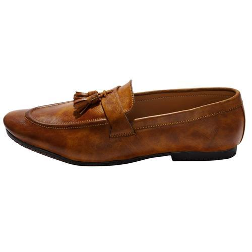 9b180135827c5 Hush Berry TAN ethnic luxary casual wedding party wear shoe for men, Size: 6