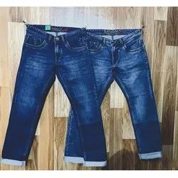 Blue Classic Men Denim Jeans