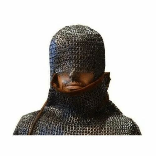 Medieval Chain Mail Coif